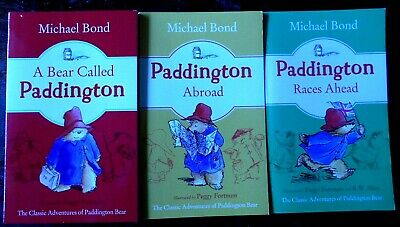 3 x PADDINGTON BEAR SERIES - NEW : MICHAEL BOND  Wholesale Bulk Lot p/b Books
