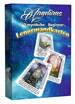 Angelinas 40Mystical Beginner–Tarot Cards + 9Trading Cards (Pack of 2