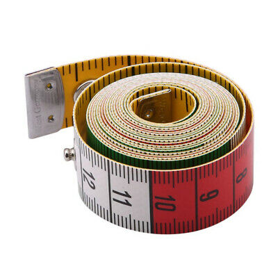With Snap Fasteners Soft Tailor Tape Meter Body Measuring Ruler Sewing Tools