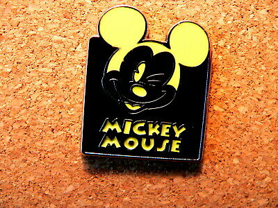 Mickey Disney Pin - Expressions - Mystery Pouch - Winking (Yellow)