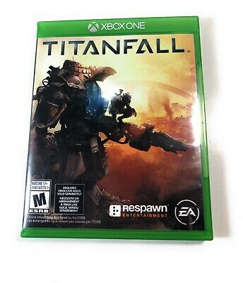 GAME XBOX ONE Titanfall One Very Good Video Game English and French