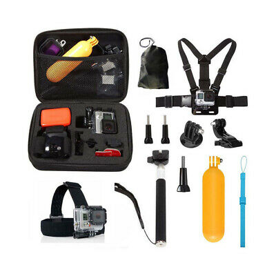 10 in1 Accessories Kit for GoPro Hero 5 4 Session 3+ 3 Sport Action Camera N9C8