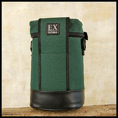 FREE UK POST Sigma LS-512N Green Padded lens bottle case 24 70 F2.8 15 30 EX
