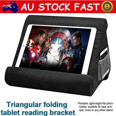MultiAngle Soft Pillow Lap Stand Tablet Phone Holder For IPad Tablet Cushion Pad