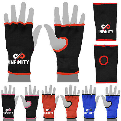 Inner Gloves Hand Wraps Boxing MMA Padded Wrist Wrap Bandages Bag Mitts Injury