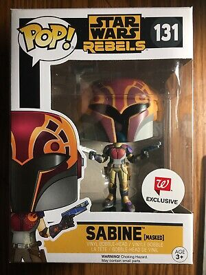 Funko POP! Star Wars: Walgreens Exclusive SABINE WREN (HELMET) - MIB!!