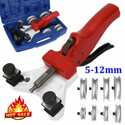WK-666 Multi Copper Pipe Tube Bender Tool Kit 5-12mm With Tube Cutter