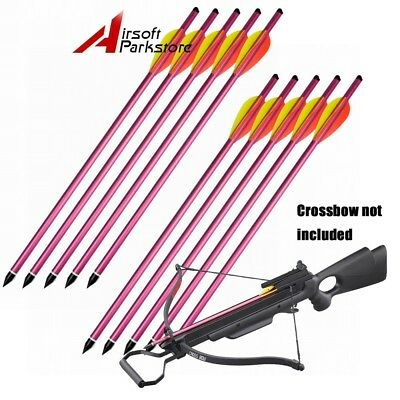 6PC ARROWS BOLTS FOR 150LB OR 180LB HUNTING CROSSBOW