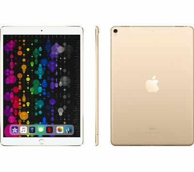 "APPLE 10.5"" iPad Pro Cellular - 256 GB, Gold (2017) - Currys"