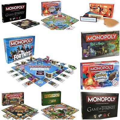 UK Monopoly Board Game - Brand New and Sealed - Lots of editions to choose from!