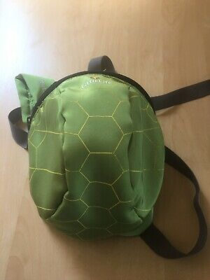 Littlelife Backpack & Reins Turtle