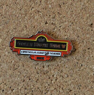 Pin 136803 WDW - Hidden Mickey 2019 - Attraction Signs - Great Movie Ride