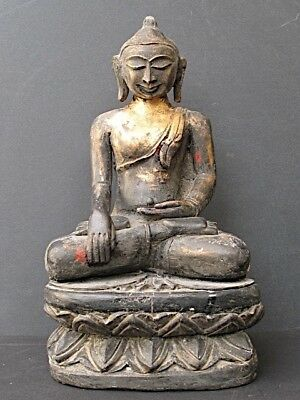 Buddha Wooden and Lacquer of Burma