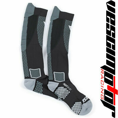 Calza Lunga Dainese D-Core High Sock Black/Anthracite (Nera/Antracite)