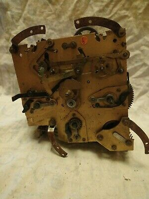 Old English Clock Movement For Spares Or Repairs No 6