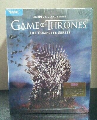 Game Of Thrones Complete Series  GOT  (Blu-ray + Digital Box Set)   BRAND NEW