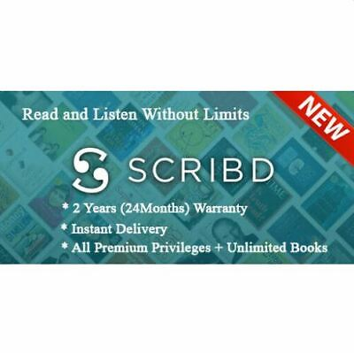 Scribd Premium Account 2Years (24 Months)✅  Warranty ✅ PRIVATE ✅ Fast Delivery