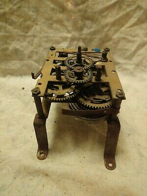 Old Clock Movement For Spares Or Repairs No 23