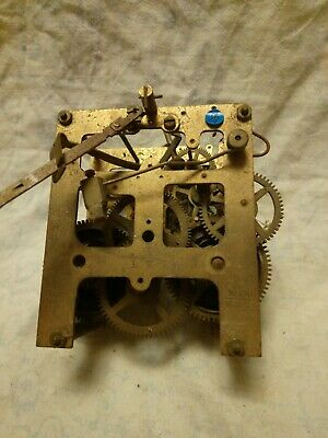 Old DK 16 CM Clock Movement For Spares Or Repairs