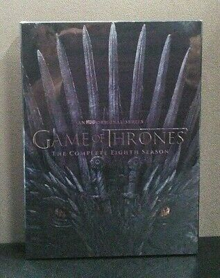 Game of Thrones The Complete Eighth Season   (DVD w/Slipcover)  BRAND NEW