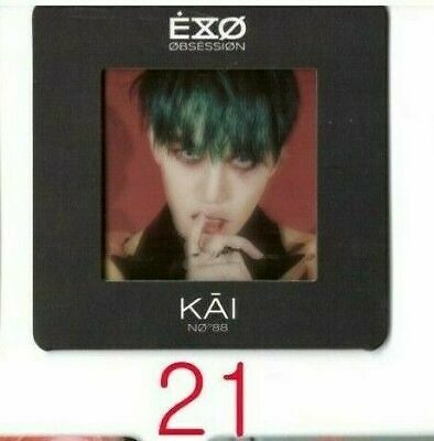 EXO OBSESSION Authentic PhotoCard X-EXO PhotoSlide21 KAI kpop