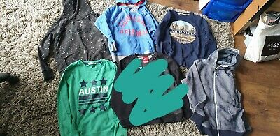 Boys Hoodies / T Shirts. Age 10 years. Inc Next & H & M
