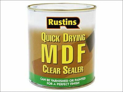 Quick Drying MDF Sealer Clear 500ml RUSMDFCS500