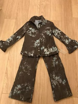 BNWT STUNNING DESIGNER TOFF TOGS WINTER RUFFLES OUTIFT age 10 APPROX EUR 134