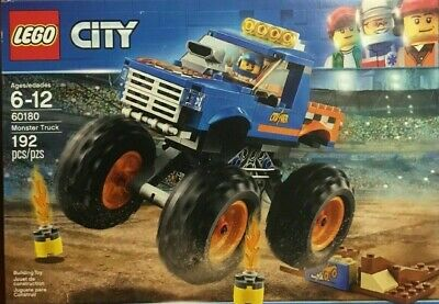 *LEGO City Monster Truck 60180 Building Kit (192 Piece) BRAND NEW IN SEALED BOX
