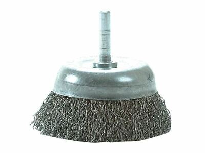 DIY Cup Brush with Shank 75mm x 0.35 Steel Wire LES43013307