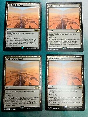 Field of the Dead x4 MTG Core Set 2020 M20 Magic the Gathering LP/NM