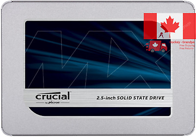 Crucial MX500 500GB 3D NAND SATA 2 5 Inch Internal SSD - CT500MX500SSD1 Z