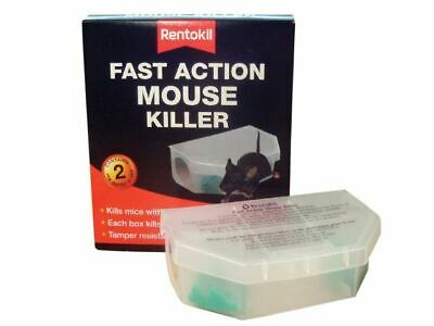 Fast Action Mouse Killer Twin Pack RKLPSF135