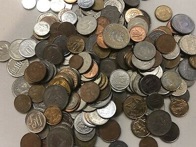 Nice Mixed Bulk Lot of 100 South America Central America Caribbean Coins!