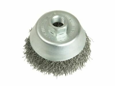 Cup Brush 125mm M14 x 0.35 Steel Wire LES427177