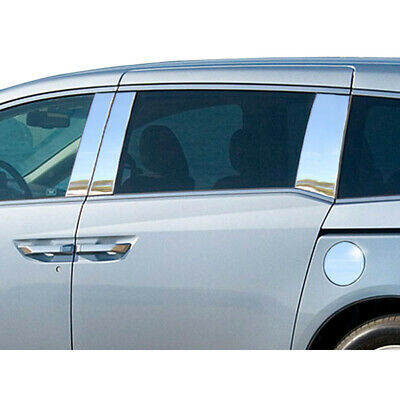 Pillar Post Covers for 2011-2014 Honda Odyssey 6p Stainless Steel