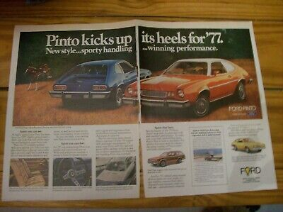 1977 Ford Pinto Cruising Wagon POSTER24X36 inch