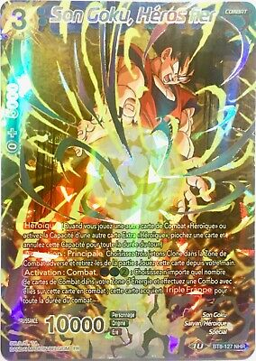BT8-127 NHR : Son Goku, Héros fier | Carte Dragon Ball Super Card Game DBS FR