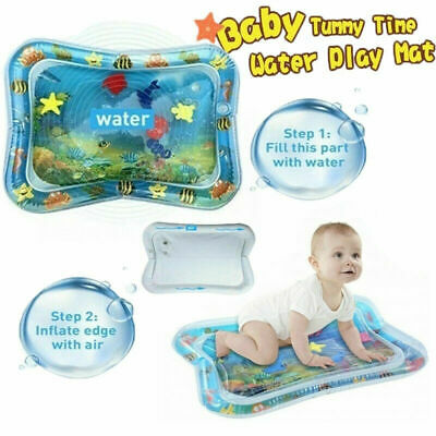 Inflatable Baby Water Mat Novelty Play For Kids Children Infants Tummy Time L