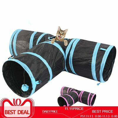 Pet cat Tunnel 3 WAY Y Shape Foldable Pet Puppy Animal Dog Cat Kitten Play