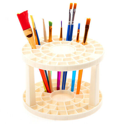 Paint Brush Holder Stand Collapsible Art Tool Watercolor Pen Rack Brush Storage