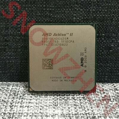 AMD Athlon II X4 610E CPU Quad-Core  2.4 GHz Socket AM3 45w Processor