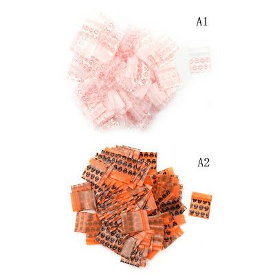100 Bags Clear 8MIL Small Poly BagRecloseable  BAGS Plastic Baggie In _ne