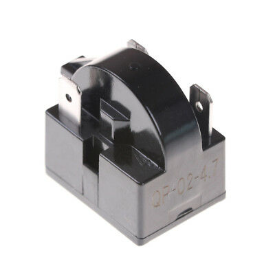 QP-02-4.7 Start Relay Refrigerator C for 4.7 Ohm 3 Pin Danby Compressor sk