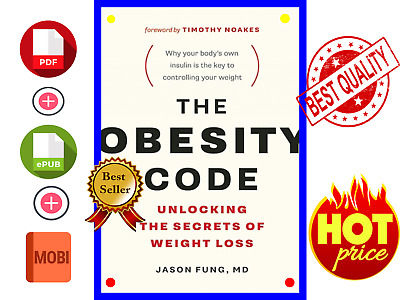The Obesity Code Unlocking The Secrets By Jason 🔥⚡ FAST DELIVERY ⚡🔥