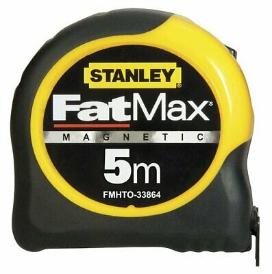 STANLEY 0-33-864 5m FatMax Blade Armour Magnetic Tape Measure