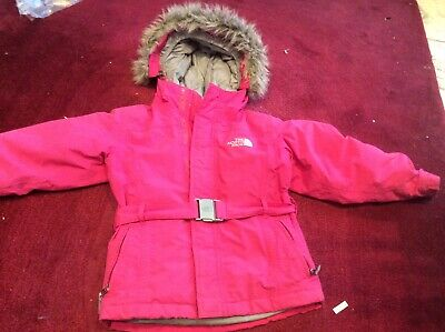 Girls PINK North Face Down Winter Coat Hyvent 550 Breathable extremely warm 6 ye