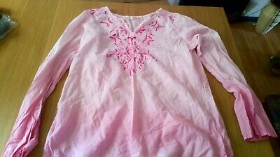 Girls Demo Pink Overshirt for Swimming Costumes - Size 34/36 14/15 Years