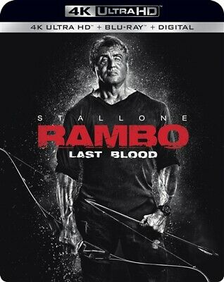 PREORDER DEC 17 RAMBO LAST BLOOD New 4K Ultra HD + Blu-ray Sylvester Stallone