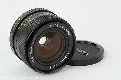 Yashica C/Y Mount 28mm f2.8 DSB Lens (Contax/Yashica)